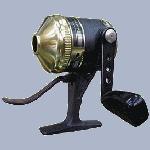 carreto de pesca bobina fechada, spincast